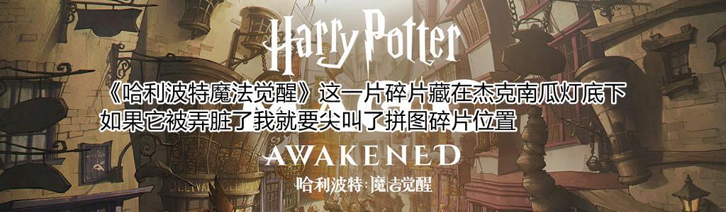 《哈利波特魔法觉醒》这一片碎片藏在杰克南瓜灯底下拼图碎片位置